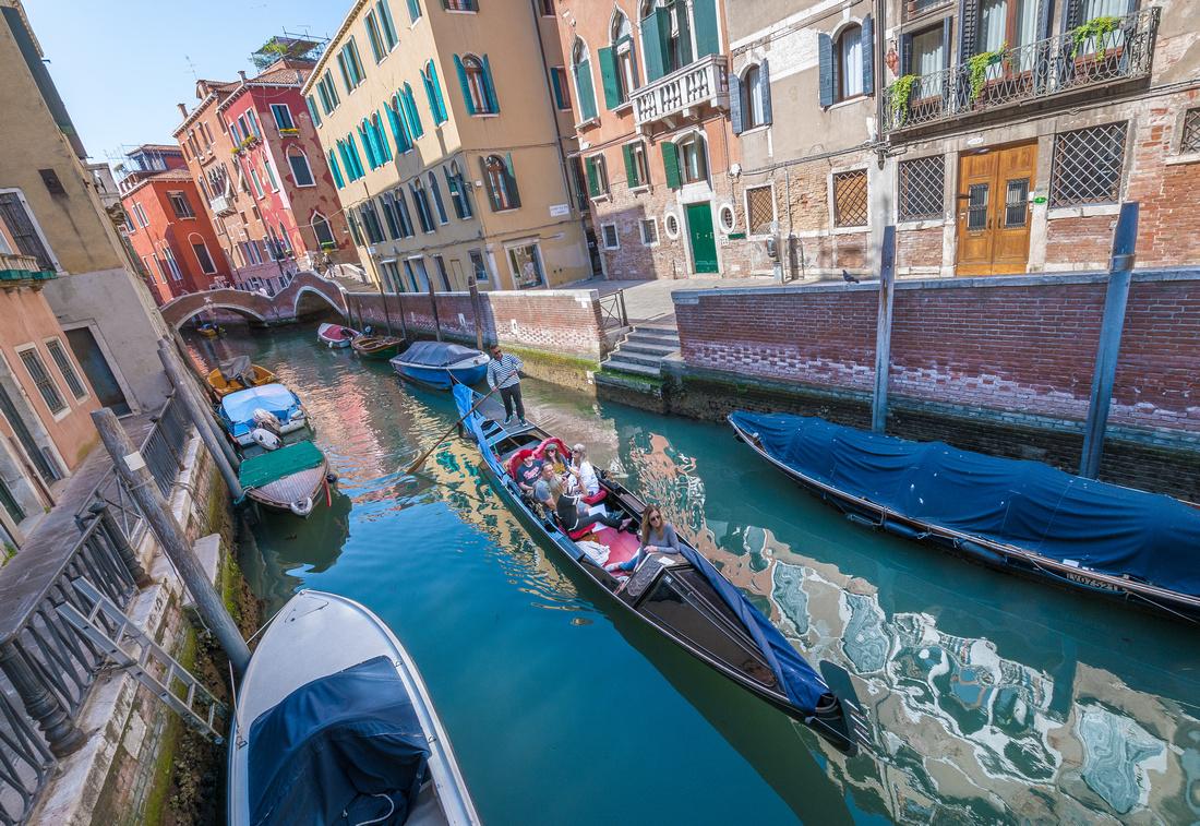 Venice - Gondolas & Canals